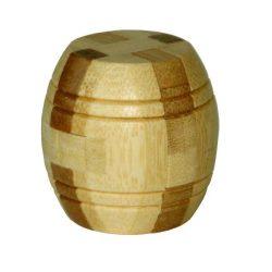 Barrel - hordó - bambusz puzzle ördöglakat