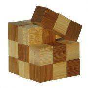 Snake cubes - bambusz puzzle ördöglakat