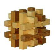 Slide - bambusz puzzle ördöglakat