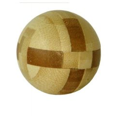 Ball - bambusz puzzle ördöglakat