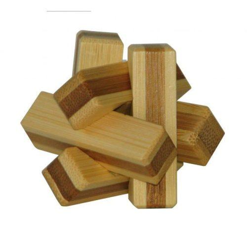 Firewood - bambusz puzzle ördöglakat