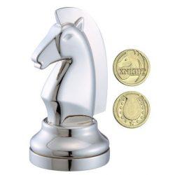 Cast Sakk - Ló (ezüst) - fém ördöglakat