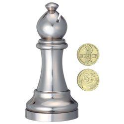 Cast Sakk - Futó (ezüst) - fém ördöglakat