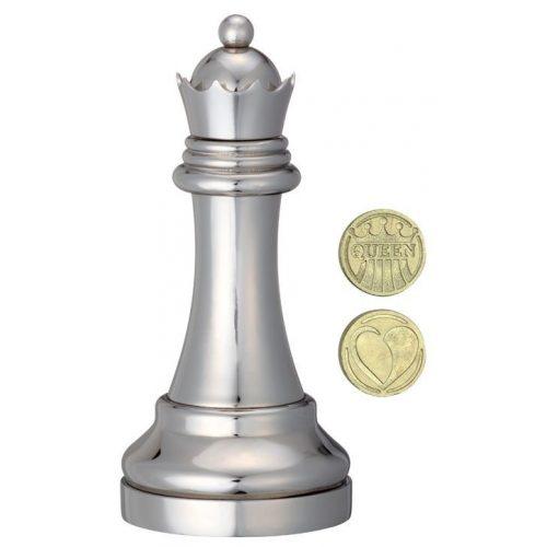 Cast Sakk - Királynő (ezüst) - fém ördöglakat