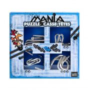 Puzzle Mania - Blue - fém ördöglakat