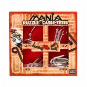 Puzzle Mania - Red - fém ördöglakat