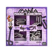 Puzzle Mania - Purple - fém ördöglakat