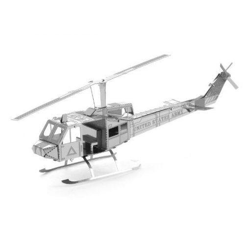 UH-1 Huey helikopter - Metal Earth - 3D fém puzzle