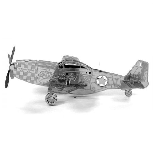 Mustang P-51 - Metal Earth - 3D fém puzzle