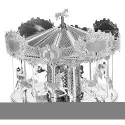 Merry Go Round körhinta - Metal Earth - 3D fém puzzle