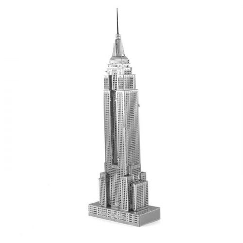 Iconx - Empire State Building - Metal Earth - 3D fém puzzle