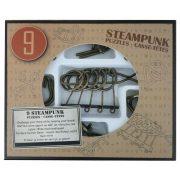 Steampunk Puzzle Set (9) - Barna ördöglakat