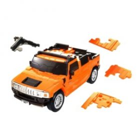 3d autó puzzle